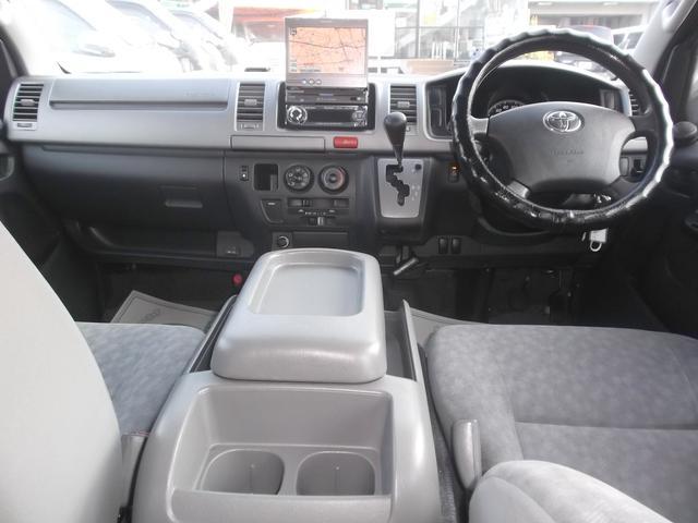 トヨタ レジアスエースバン ロングスーパーGL2.5DT4WDナビエアロトランポ禁煙車