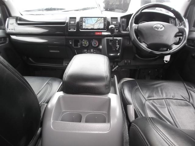 トヨタ レジアスエースバン ロングスーパーGL3型悪顔仕様HDD後席TVベットカスタム