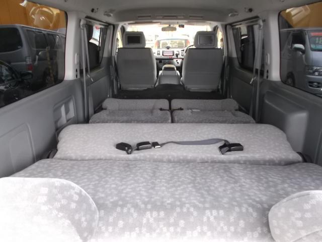 トヨタ ハイエースバン ロングスーパーGL2.5DT4WD公認3ナンバー8人後席TV