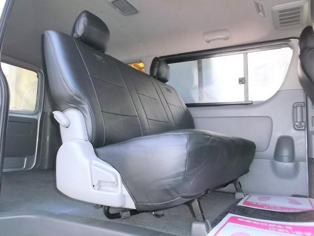 トヨタ ハイエースバン スーパーGL3.0DT1オナナビTVエアロAW黒革調Tベル済