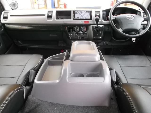 トヨタ ハイエースバン ワイドスーパーGL3.0DT1オナナビTVエアロ新規Tベル