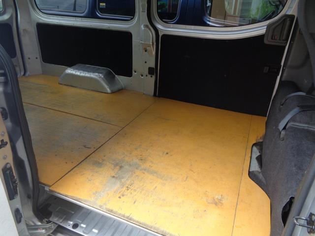 ロングDXターボ DXターボEXパッケージ1オーナーナビTVBカメラ同色バンパー荷室板張低床3人5ドア(9枚目)