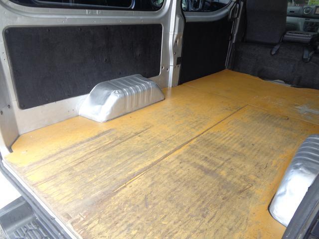 ロングDXターボ DXターボEXパッケージ1オーナーナビTVBカメラ同色バンパー荷室板張低床3人5ドア(54枚目)