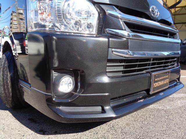 ロングワイドスーパーGL 4型3.0DT1オーナー禁煙車ナビTVバックカメラスマートキーエアログリルLEDライト黒木目インテリア(30枚目)