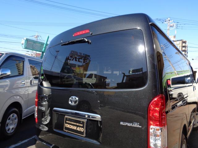 ロングワイドスーパーGL 4型3.0DT1オーナー禁煙車ナビTVバックカメラスマートキーエアログリルLEDライト黒木目インテリア(39枚目)