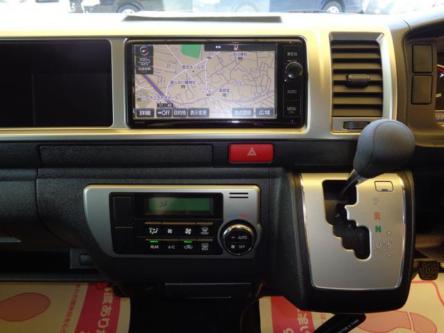 ロングワイドスーパーGL 4型6AT1オーナー禁煙車SDフルセグバックカメラスマートキーエアロLEDライト新品15AW&ナスカーローダウンWエアバック(11枚目)