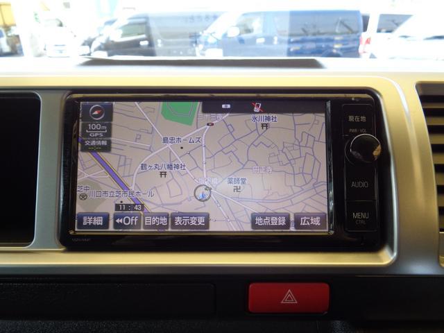 ロングワイドスーパーGL 4型6AT1オーナー禁煙車SDフルセグバックカメラスマートキーエアロLEDライト新品15AW&ナスカーローダウンWエアバック(15枚目)