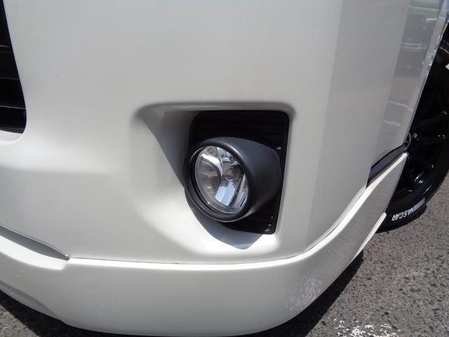 ロングワイドスーパーGL 4型6AT1オーナー禁煙車SDフルセグバックカメラスマートキーエアロLEDライト新品15AW&ナスカーローダウンWエアバック(26枚目)