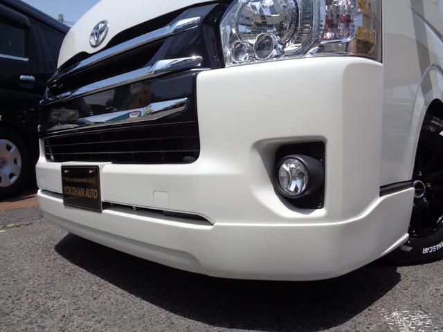 ロングワイドスーパーGL 4型6AT1オーナー禁煙車SDフルセグバックカメラスマートキーエアロLEDライト新品15AW&ナスカーローダウンWエアバック(27枚目)