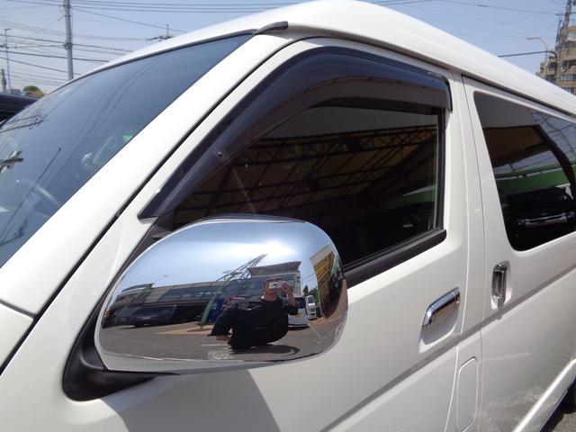 ロングワイドスーパーGL 4型6AT1オーナー禁煙車SDフルセグバックカメラスマートキーエアロLEDライト新品15AW&ナスカーローダウンWエアバック(32枚目)