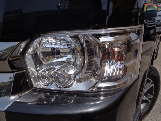 ロングワイドスーパーGL 4型ダークプライム4WD6AT1オーナー禁煙車SDフルセグバックカメラ両側電動ドアスマートキーセキュリティーエアロLEDライト専用レザー&黒木目インテリアWエアバック(25枚目)