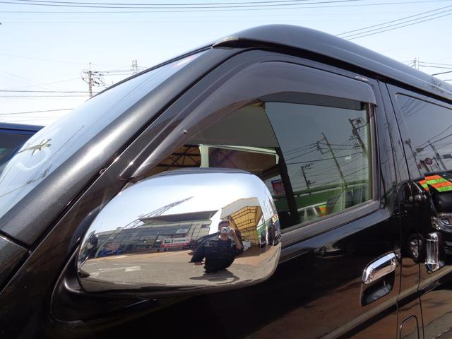 ロングワイドスーパーGL 4型ダークプライム4WD6AT1オーナー禁煙車SDフルセグバックカメラ両側電動ドアスマートキーセキュリティーエアロLEDライト専用レザー&黒木目インテリアWエアバック(32枚目)