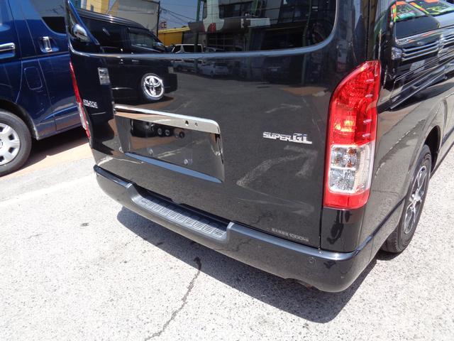 ロングワイドスーパーGL 4型ダークプライム4WD6AT1オーナー禁煙車SDフルセグバックカメラ両側電動ドアスマートキーセキュリティーエアロLEDライト専用レザー&黒木目インテリアWエアバック(44枚目)