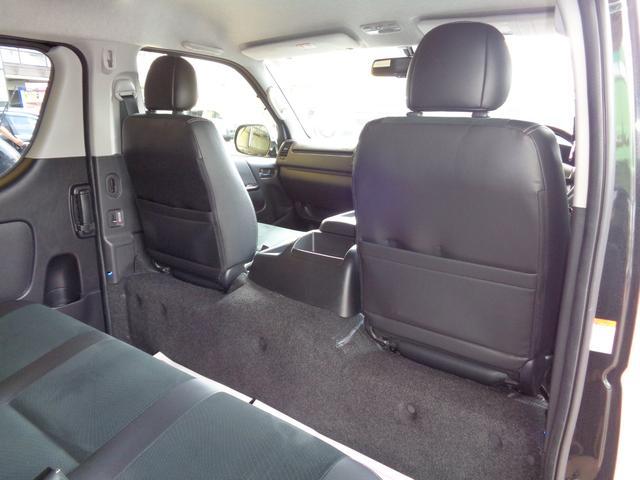 ロングワイドスーパーGL 4型ダークプライム4WD6AT1オーナー禁煙車SDフルセグバックカメラ両側電動ドアスマートキーセキュリティーエアロLEDライト専用レザー&黒木目インテリアWエアバック(56枚目)
