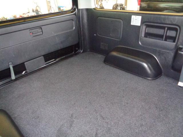 ロングワイドスーパーGL 4型ダークプライム4WD6AT1オーナー禁煙車SDフルセグバックカメラ両側電動ドアスマートキーセキュリティーエアロLEDライト専用レザー&黒木目インテリアWエアバック(59枚目)
