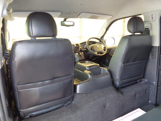 ロングワイドスーパーGL 4型ダークプライム4WD6AT1オーナー禁煙車SDフルセグバックカメラ両側電動ドアスマートキーセキュリティーエアロLEDライト専用レザー&黒木目インテリアWエアバック(68枚目)
