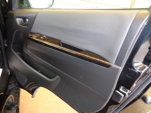 ロングワイドスーパーGL 4型ダークプライム4WD6AT1オーナー禁煙車SDフルセグバックカメラ両側電動ドアスマートキーセキュリティーエアロLEDライト専用レザー&黒木目インテリアWエアバック(75枚目)
