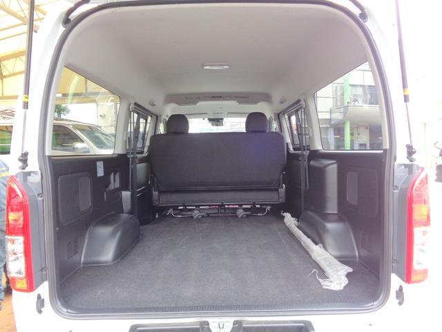 ロングワイドスーパーGL 5型2.8ディーゼルターボ6速ATセーフティーセンス1オーナー禁煙車ナビTVバックカメラセキュリティーETCスマートキーエアロLEDライト黒革調シートAC100Vスライド窓(10枚目)