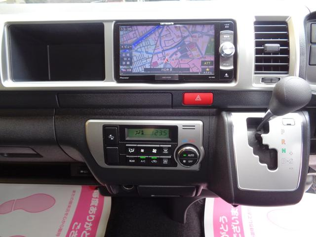 ロングワイドスーパーGL 5型2.8ディーゼルターボ6速ATセーフティーセンス1オーナー禁煙車ナビTVバックカメラセキュリティーETCスマートキーエアロLEDライト黒革調シートAC100Vスライド窓(11枚目)