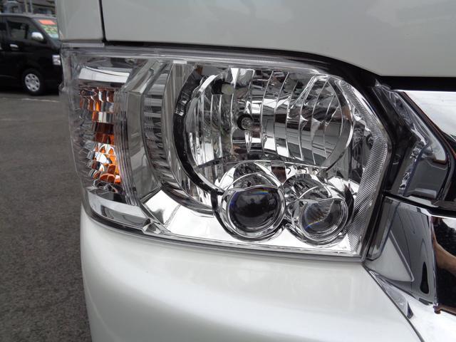 ロングワイドスーパーGL 5型2.8ディーゼルターボ6速ATセーフティーセンス1オーナー禁煙車ナビTVバックカメラセキュリティーETCスマートキーエアロLEDライト黒革調シートAC100Vスライド窓(24枚目)