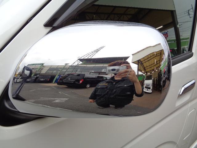 ロングワイドスーパーGL 5型2.8ディーゼルターボ6速ATセーフティーセンス1オーナー禁煙車ナビTVバックカメラセキュリティーETCスマートキーエアロLEDライト黒革調シートAC100Vスライド窓(31枚目)