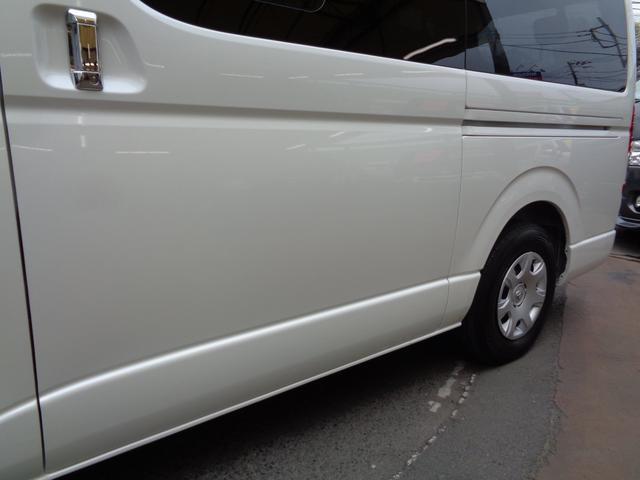 ロングワイドスーパーGL 5型2.8ディーゼルターボ6速ATセーフティーセンス1オーナー禁煙車ナビTVバックカメラセキュリティーETCスマートキーエアロLEDライト黒革調シートAC100Vスライド窓(39枚目)
