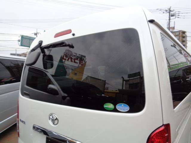 ロングワイドスーパーGL 5型2.8ディーゼルターボ6速ATセーフティーセンス1オーナー禁煙車ナビTVバックカメラセキュリティーETCスマートキーエアロLEDライト黒革調シートAC100Vスライド窓(41枚目)