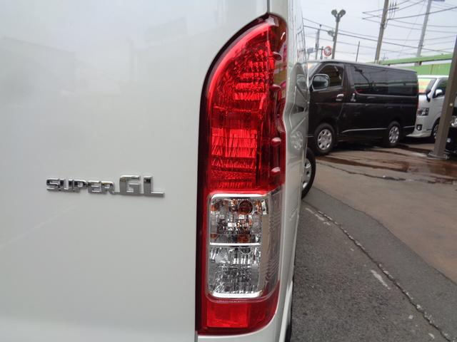 ロングワイドスーパーGL 5型2.8ディーゼルターボ6速ATセーフティーセンス1オーナー禁煙車ナビTVバックカメラセキュリティーETCスマートキーエアロLEDライト黒革調シートAC100Vスライド窓(43枚目)