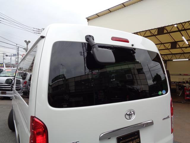 ロングワイドスーパーGL 5型2.8ディーゼルターボ6速ATセーフティーセンス1オーナー禁煙車ナビTVバックカメラセキュリティーETCスマートキーエアロLEDライト黒革調シートAC100Vスライド窓(45枚目)