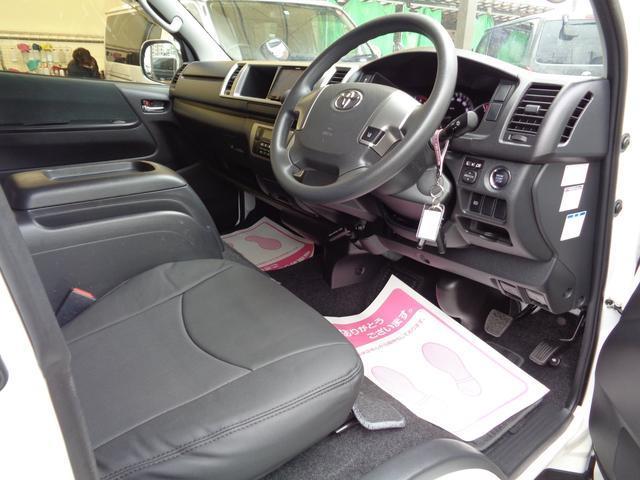 ロングワイドスーパーGL 5型2.8ディーゼルターボ6速ATセーフティーセンス1オーナー禁煙車ナビTVバックカメラセキュリティーETCスマートキーエアロLEDライト黒革調シートAC100Vスライド窓(53枚目)