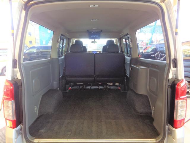 ロングライダープレミアムGXターボ 4WD1オーナーナビTV後席TVバックカメラエアロHIDライト&LEDデイライト15AW黒革調シートWエアバックインテリキーAC100V(10枚目)
