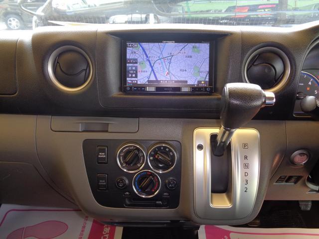 ロングライダープレミアムGXターボ 4WD1オーナーナビTV後席TVバックカメラエアロHIDライト&LEDデイライト15AW黒革調シートWエアバックインテリキーAC100V(11枚目)