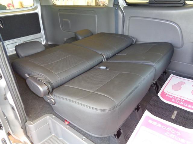 ロングライダープレミアムGXターボ 4WD1オーナーナビTV後席TVバックカメラエアロHIDライト&LEDデイライト15AW黒革調シートWエアバックインテリキーAC100V(55枚目)