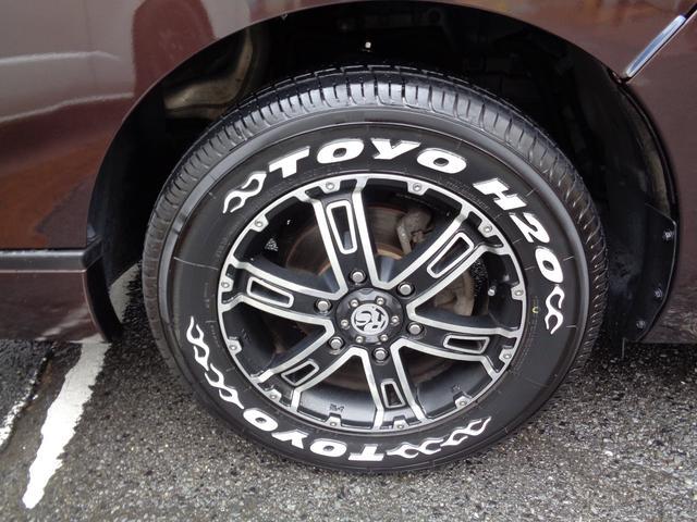 ロングプレミアムGXターボ 1オーナー禁煙車SDフルセグ全方位カメラEブレーキ横滑り防止DレコーダーインテリキーLEDライト16AW&H20ホワイトレター黒革調シートWエアバック(37枚目)
