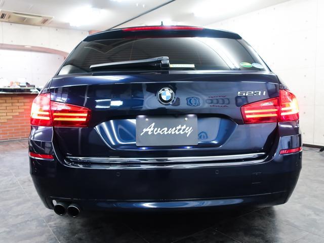 BMW BMW 523iツーリング ラグジュアリーDアシストプラスベージュ革