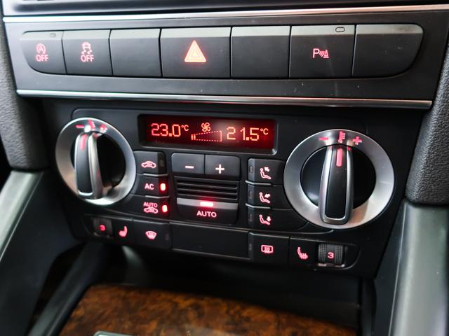 使いやすいインパネには便利なシートヒーター、オートエアコン等を装備しております。