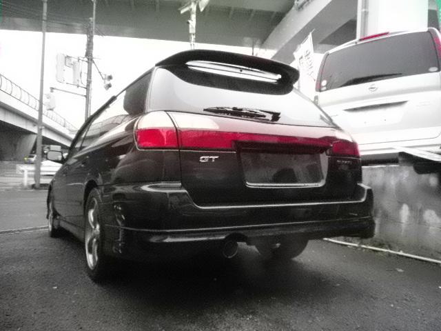 スバル レガシィツーリングワゴン GT VDC 1オナ 記録 禁煙 黒革 マッキン 純正エアロ