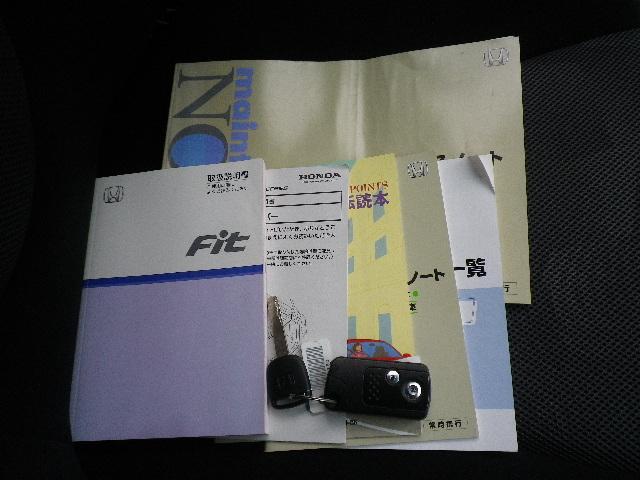 ホンダ フィット 1.5W 1オーナー 記録簿 禁煙車 スマートキー 5速MT
