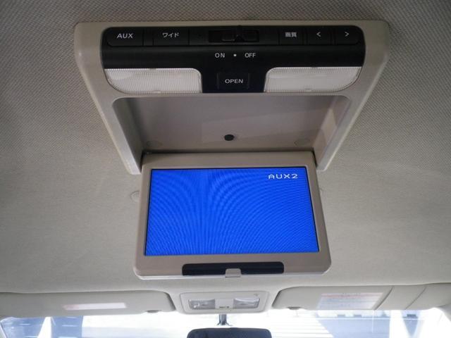 純正オプション後席用モニター。