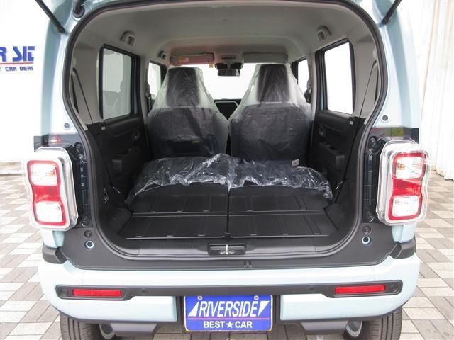 ハイブリッドX DAMD(ダムド)CLASICO フェイスチェンジキット ウッドストライプ DEAN CROSS COUNTRY15ホィール トリップバスケットルーフラック付き シートヒーター セーフティーサポート(23枚目)