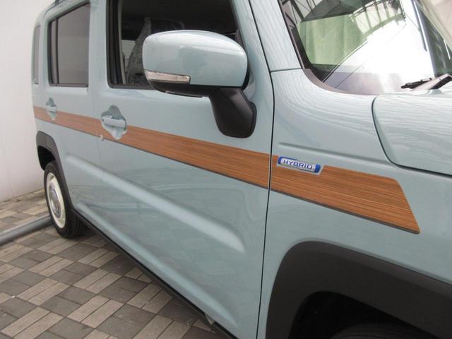 ハイブリッドX DAMD(ダムド)CLASICO フェイスチェンジキット ウッドストライプ DEAN CROSS COUNTRY15ホィール トリップバスケットルーフラック付き シートヒーター セーフティーサポート(27枚目)