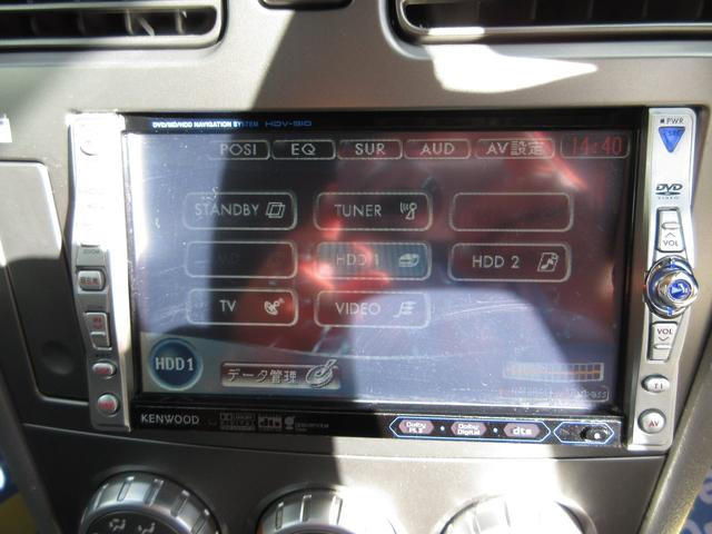 X20 タフパッケージ HDDナビDVDビデオETCキーレス(8枚目)