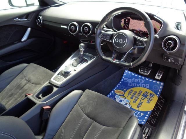 2.0TFSI クワトロ Sラインパッケージ バーチャルコクピット 電動可変式リアスポイラー Sライン専用前後バンパー 専用シート・ステアリング ナビフルセグ バックセンサー ETC スマートキー LED 18専用アルミ 2000 4WDターボ(8枚目)