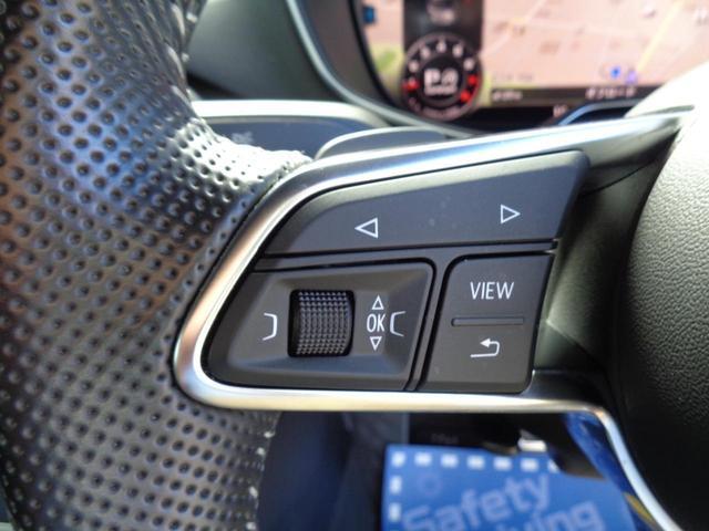 2.0TFSI クワトロ Sラインパッケージ バーチャルコクピット 電動可変式リアスポイラー Sライン専用前後バンパー 専用シート・ステアリング ナビフルセグ バックセンサー ETC スマートキー LED 18専用アルミ 2000 4WDターボ(20枚目)