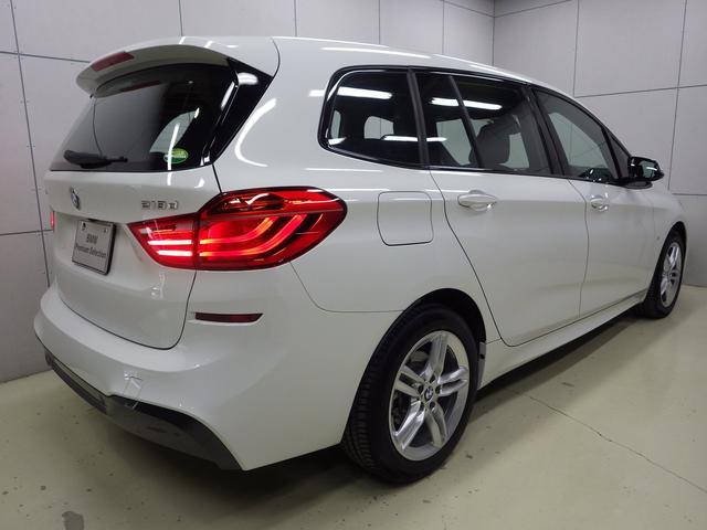 218d xDriveグランツアラー Mスポーツ 認定中古車(2枚目)