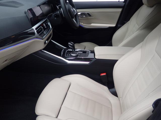 320d xDrive MスポEDジョイ+ハイライP ハイラインパッケージ・オイスターレザーシート・電動リアゲート・アクティブクルーズコントロール・コンフォートアクセス・ハンズオフ・Bluetoothオーディオ・・ハンズオフアシスト(13枚目)