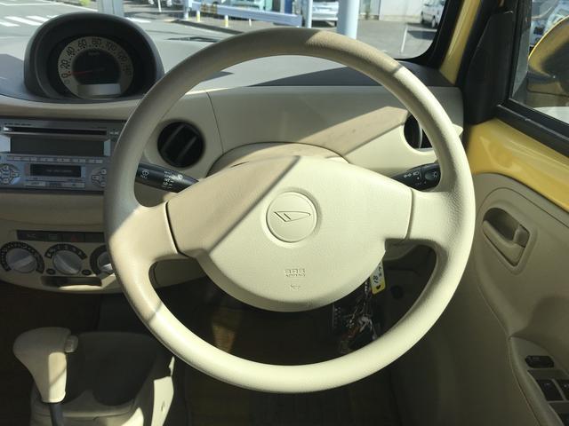 ダイハツ エッセ L 軽自動車 フロアAT 保証付 エアコン AW 4名乗り