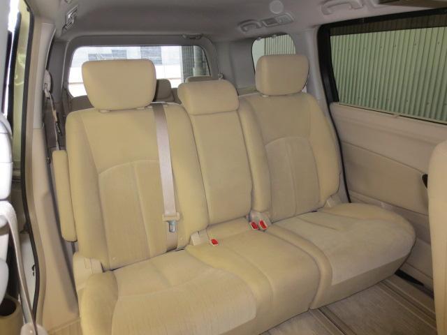 日産 エルグランド 250XG 8人乗り HDDナビ 後席モニター