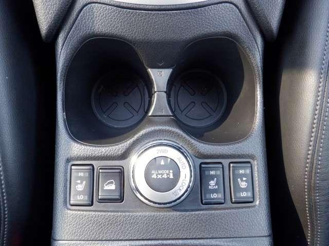 シートヒーター付きなので体調に合わせて細かく車内環境を調整できちゃいます。天候や、体調に左右されずに快適に1日をスタート出来ますね。