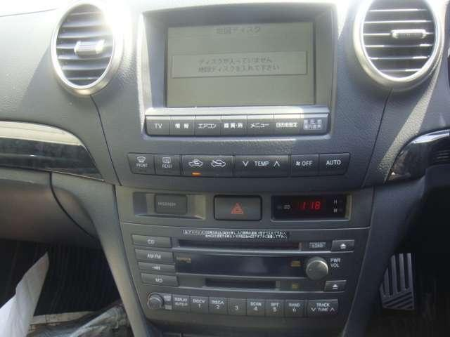 トヨタ ヴェロッサ 25 純正ナビ ETC HIDライト アルミ CD